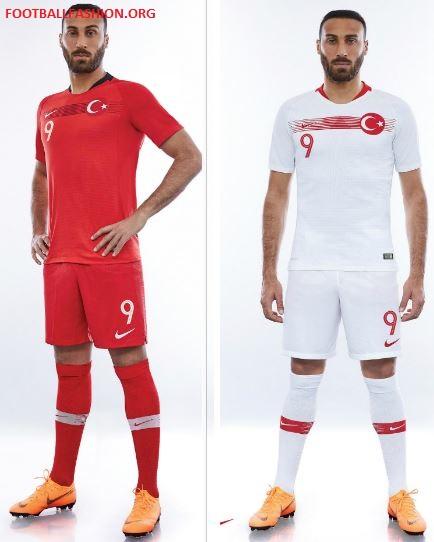 52a50a415 Turkey 2018 19 Nike Home And Away Kits Football Fashion Org