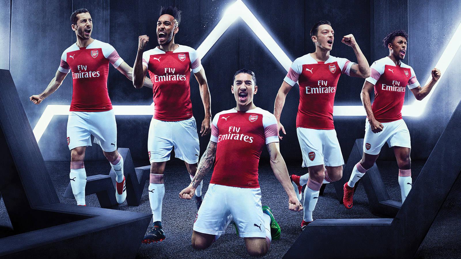 Arsenal FC 2018 19 PUMA Home Kit – FOOTBALL FASHION.ORG 91cea0705