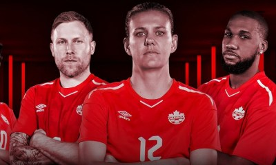 Canada 2018m 2019 Umbro Home Soccer Jersey, Football Kit, Shirt, Maillot