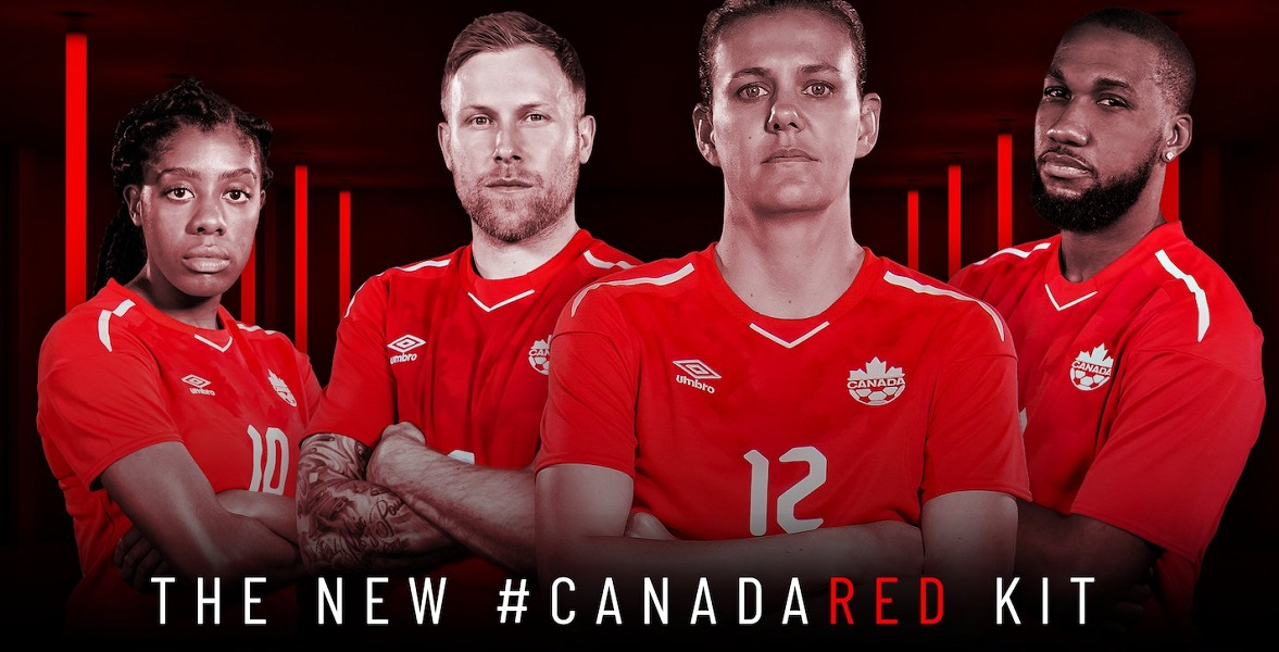 Canada 2018 19 Umbro Home Jersey - Football Fashion 78eabe914