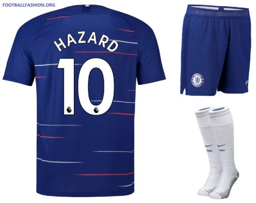 Chelsea FC 2018 2019 Nike Home and Away Football Kit, Soccer Jersey, Shirt, Camiseta de Futbol, Camisa, Maillot, Trikot, Tenue, Dres