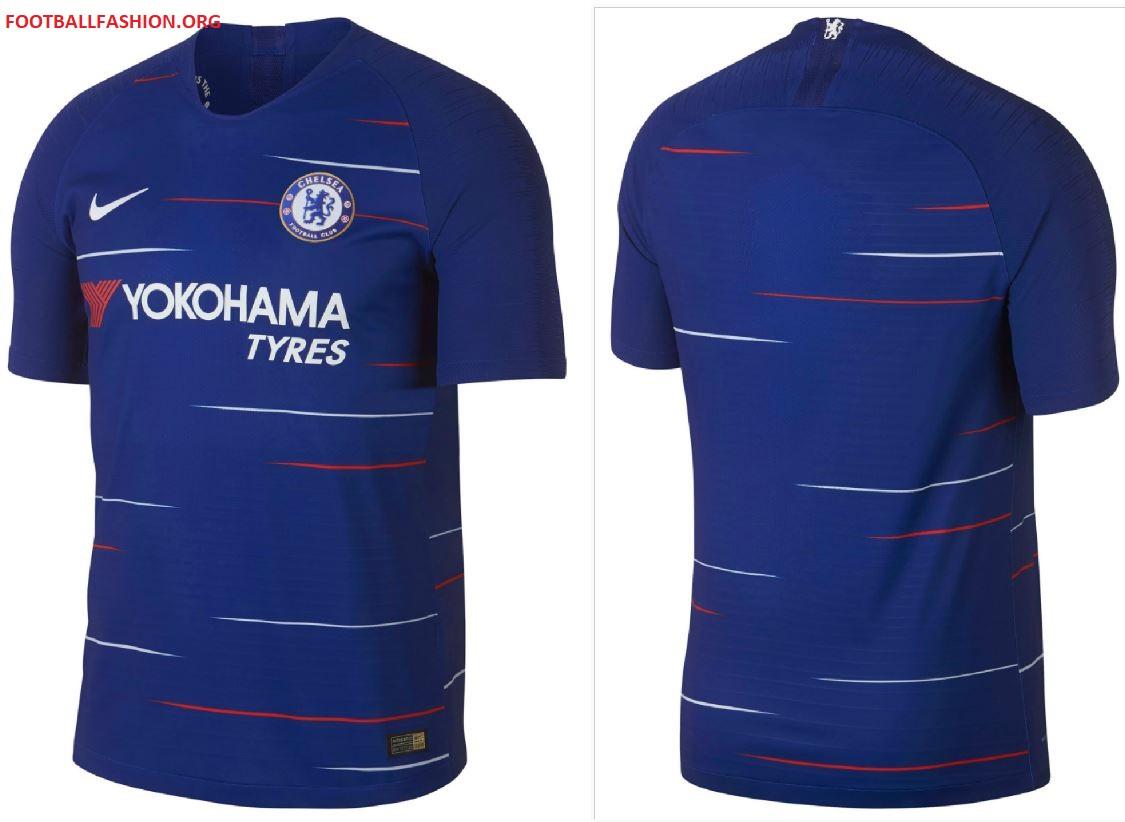 Chelsea FC 2018 19 Nike Home Kit – FOOTBALL FASHION.ORG cc9cf9a8d