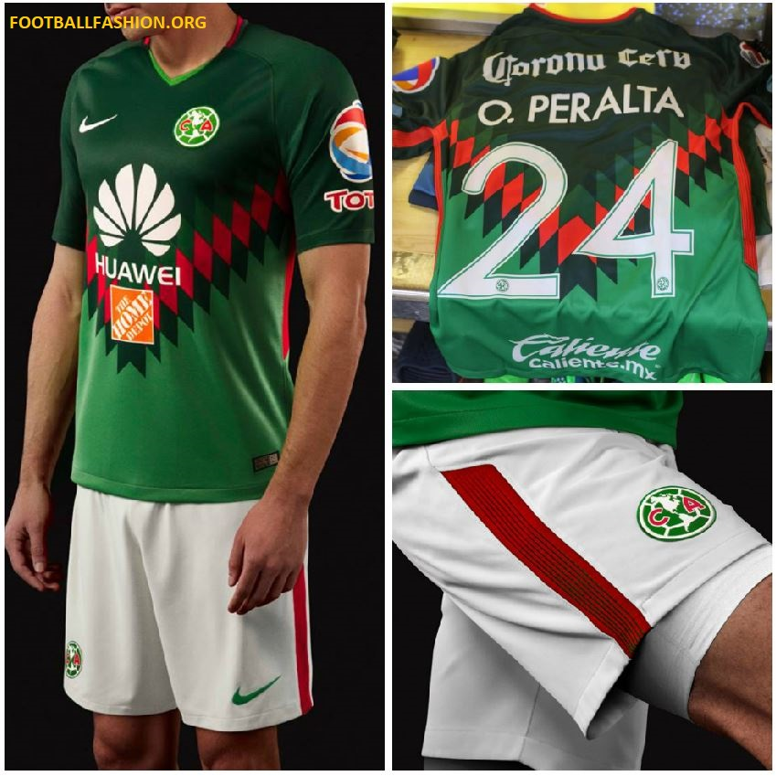 best service 94da5 52327 Club América 2018 Mexico-Inspired Nike Jersey - FOOTBALL ...
