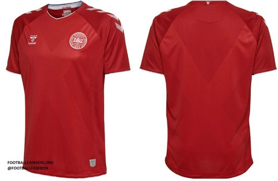 Denmark 2018 World Cup hummel Home and Away Football Kit, Soccer Jersey, Shirt, landsholdstrøje - hjemmebane, udebane