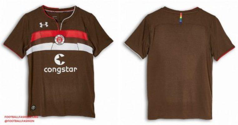 FC St. Pauli 20182019 Under Armour Home Football Kit, Soccer Jersey, Shirt, Trikot, Heimtrikot