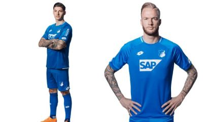 TSG 1899 Hoffenheim 2018 2019 Lotto Home Football Kit, Soccer Jersey, Shirt, Trikot, Heimtrikot