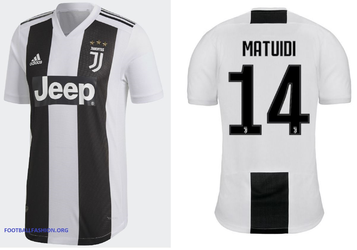 d6df7f66c9a83 Juventus FC 2018 19 adidas Home Kit - FOOTBALL FASHION.ORG