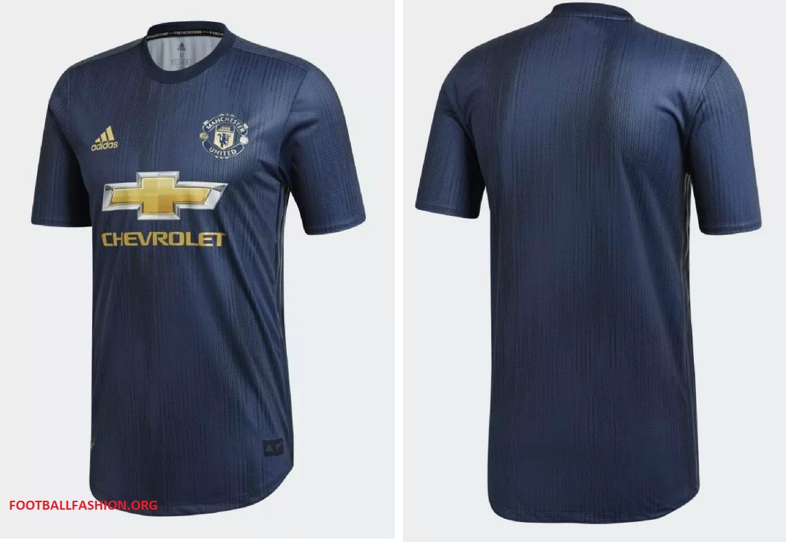 finest selection a36f9 3ee7a Manchester United 2018/19 adidas Third Kit - FOOTBALL ...
