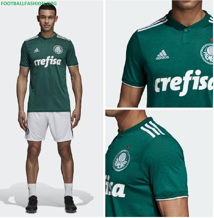 c731955e48 Palmeiras 2018 19 adidas Home and Away Kits – FOOTBALL FASHION.ORG