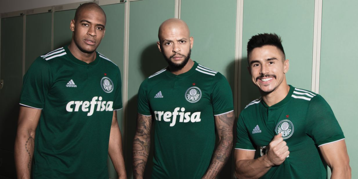 70927f2ad7b Palmeiras 2018 19 adidas Home and Away Kits - FOOTBALL FASHION.ORG