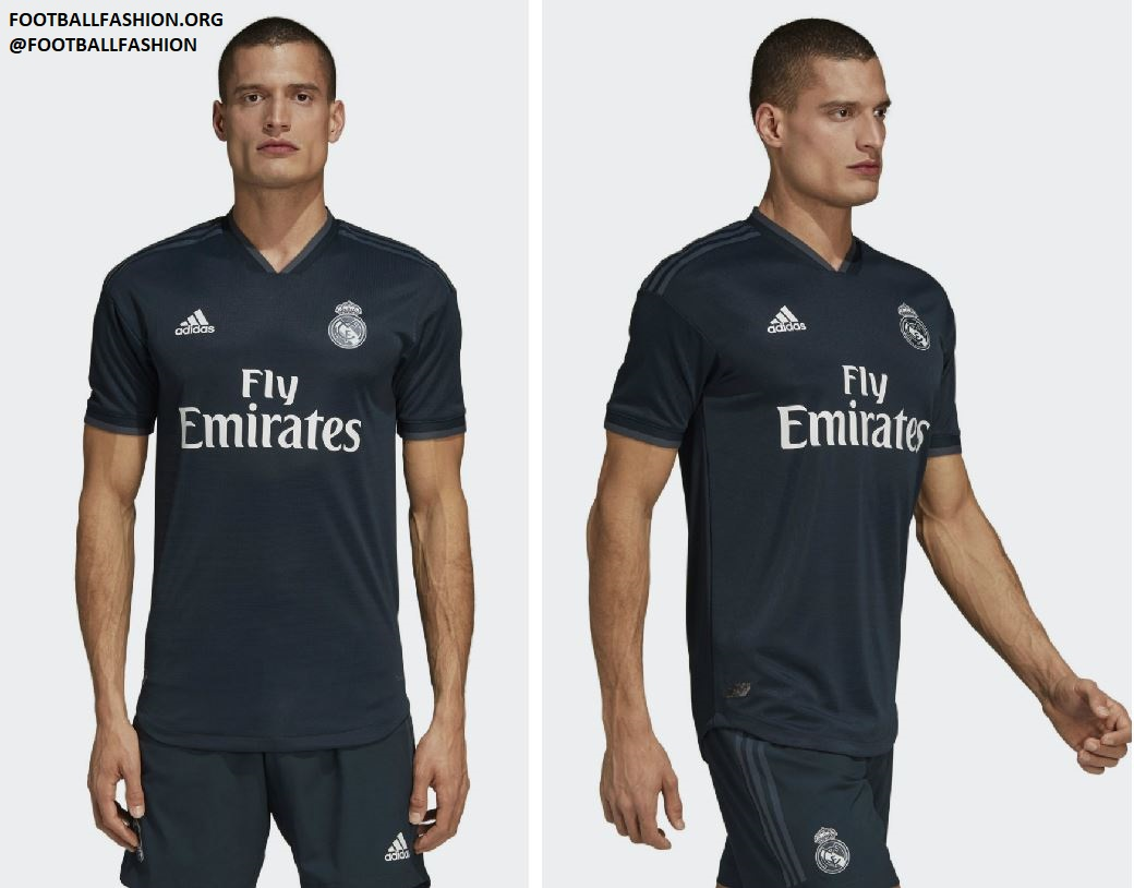 Real Madrid 2018 19 adidas Home and Away Kits – FOOTBALL FASHION.ORG d8b731397