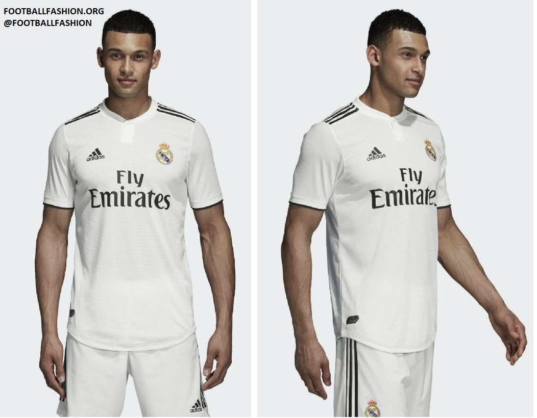 pick up ebd0e 766a3 Real Madrid 2018/19 adidas Home and Away Kits - FOOTBALL ...