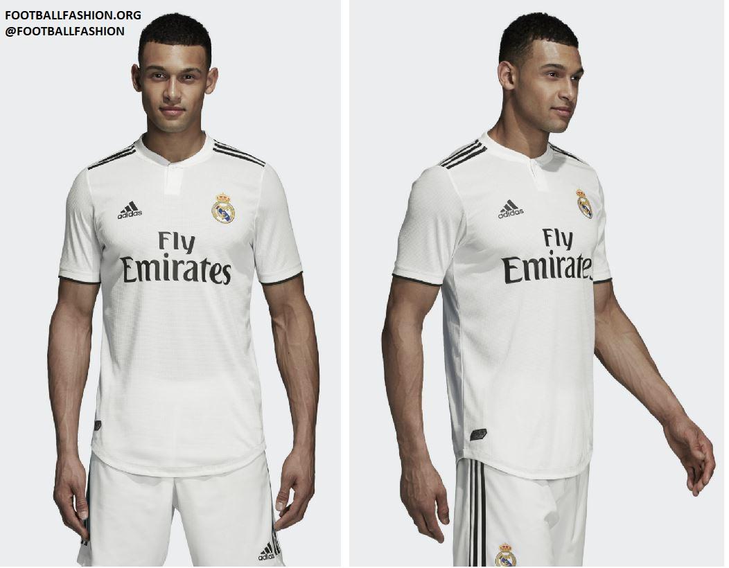 b3dcc672b Real Madrid 2018 19 adidas Home and Away Kits - FOOTBALL FASHION.ORG
