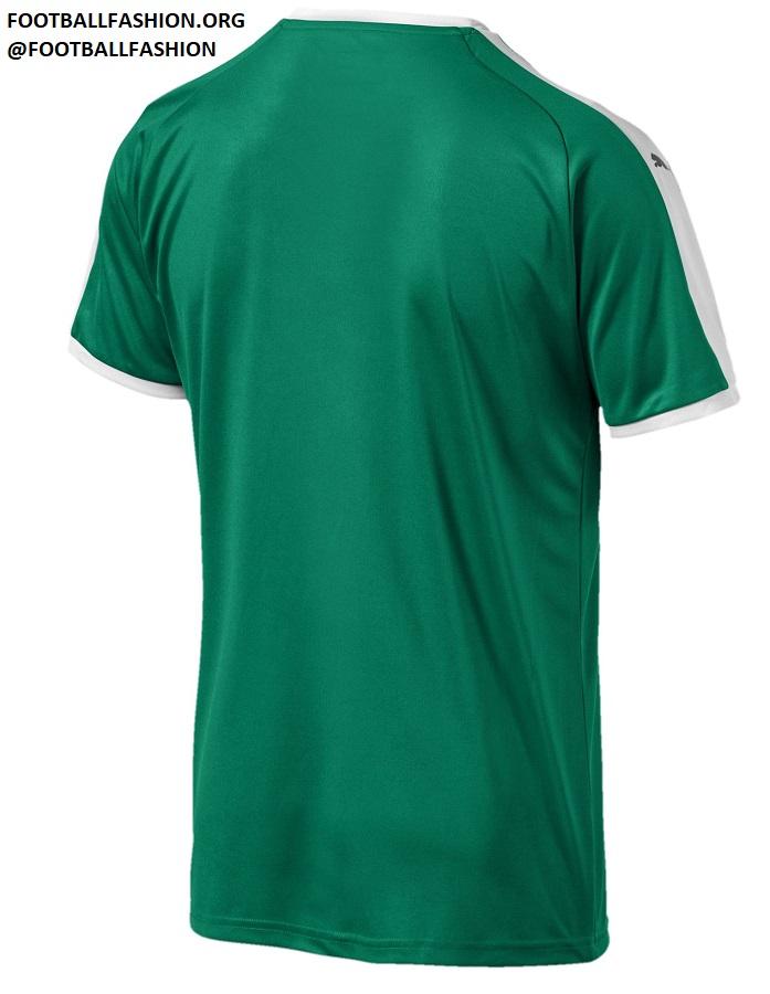 271441a8c Senegal 2018 World Cup PUMA Green Away Football Kit, Soccer Jersey, Shirt,  Maillot