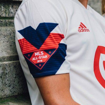 MLS 2018 All-Star Game adidas Soccer Jersey, Football Kit, Shirt, Camiseta de Futbol