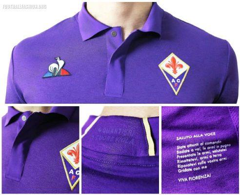 ACF Fiorentina 2018 2019 le coq sportif Football Kit, Soccer Jersey, Shirt, Gara, Maglia, Camiseta