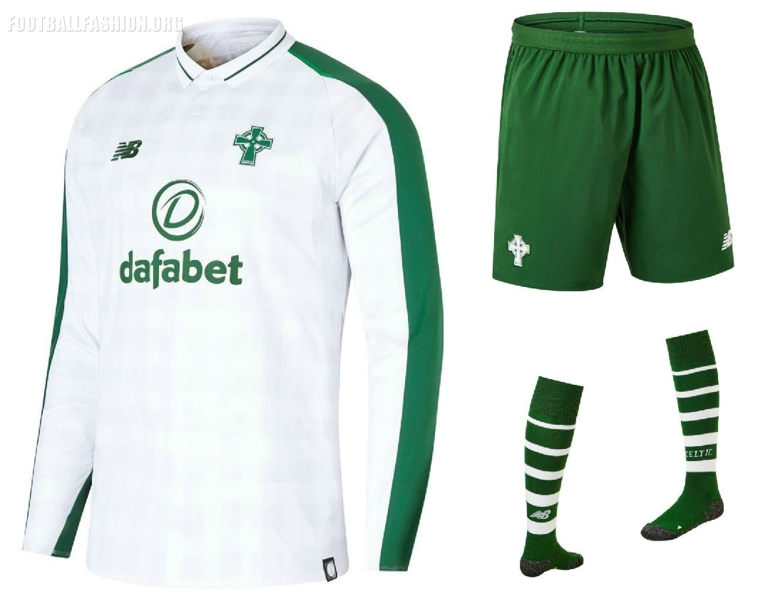 2b93b355f Celtic FC 2018 19 New Balance Away Kit - FOOTBALL FASHION.ORG