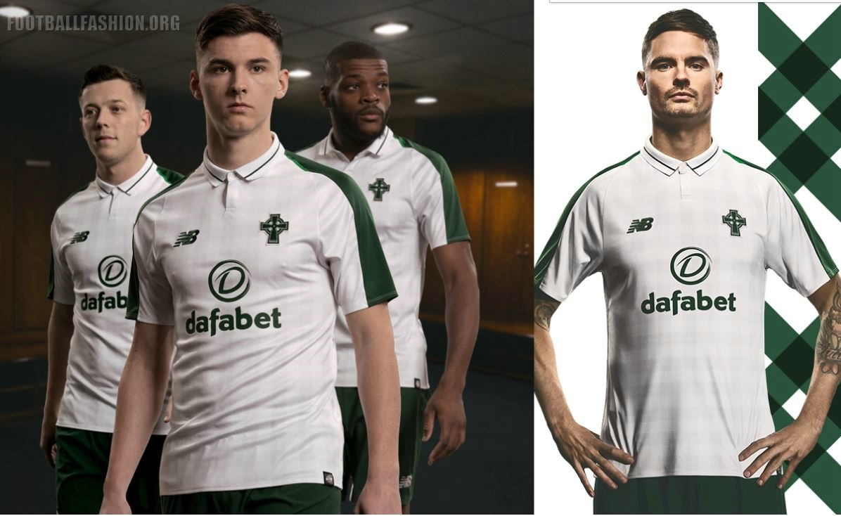 online store 2306e 3ac7b Celtic FC 2018/19 New Balance Away Kit - FOOTBALL FASHION.ORG