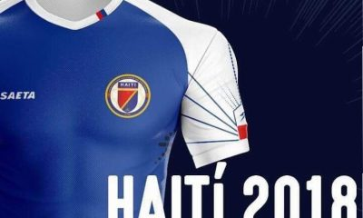 Haiti 2018 2019 Seata Home Soccer Jersey, Football Kit, Shirt, Maillot