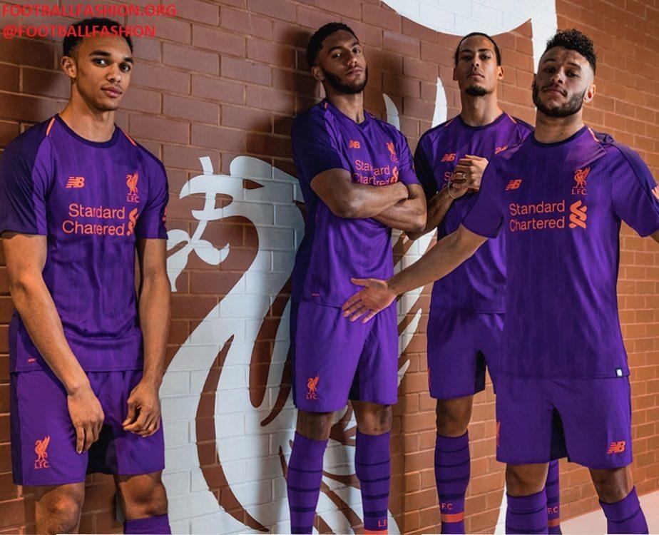3a3c9734baa Liverpool FC 2018 19 New Balance Away Kit - FOOTBALL FASHION.ORG