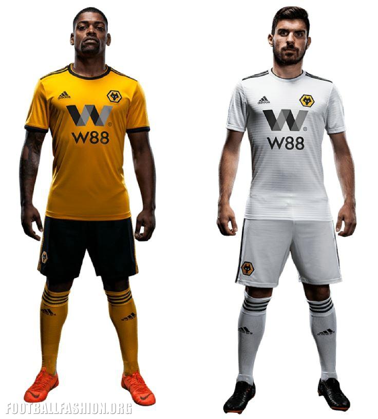 the latest d8dfd 19506 Wolves Unveil 2018/19 adidas Premier League Kits - FOOTBALL ...
