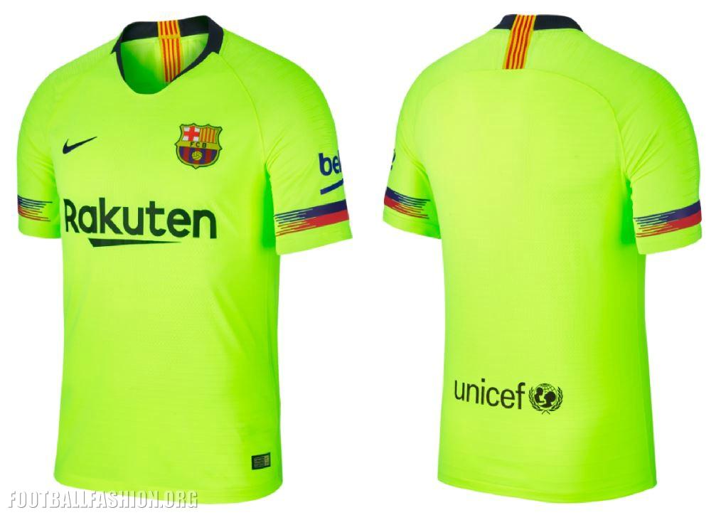 the best attitude 735b4 3665e FC Barcelona 2018/19 Nike Away Kit - FOOTBALL FASHION.ORG
