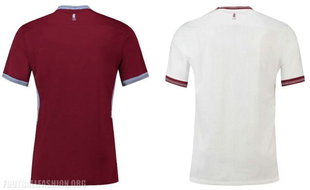 Aston Villa 2018 2019 Home and Away Football Kit, Soccer Jersey, Shirt