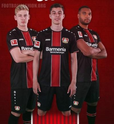 Bayer 04 Leverkusen 2018 2019 Jako Home Football Kit, Soccer Jersey, Shirt, Trikot, Heimtrikot