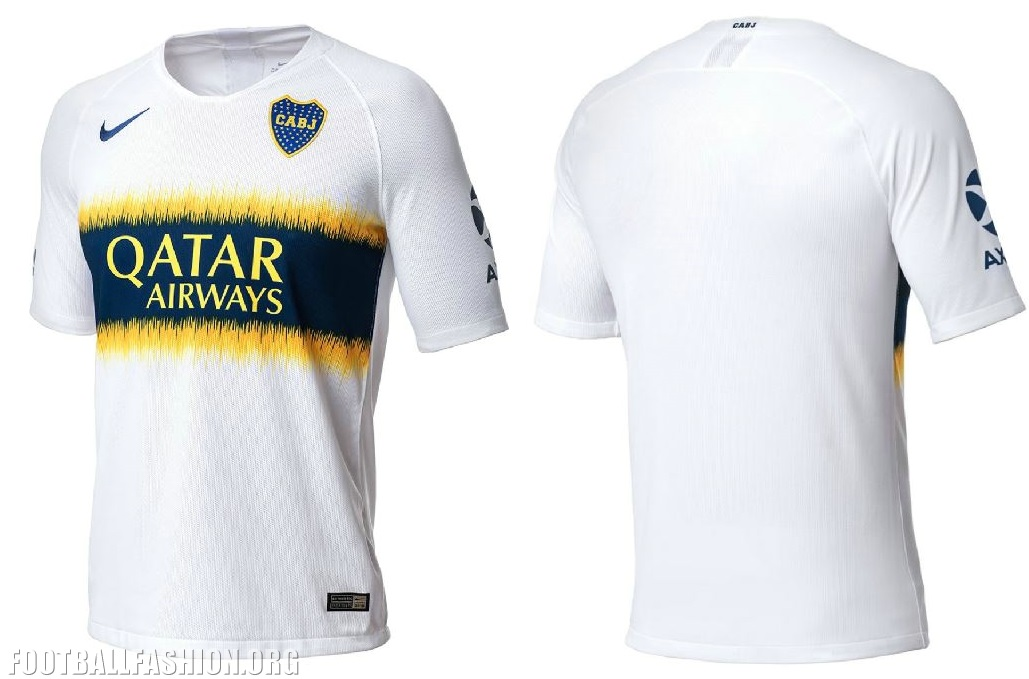 premium selection 9491b 603b4 Boca Juniors 2018/19 Nike Home and Away Kits - FOOTBALL ...