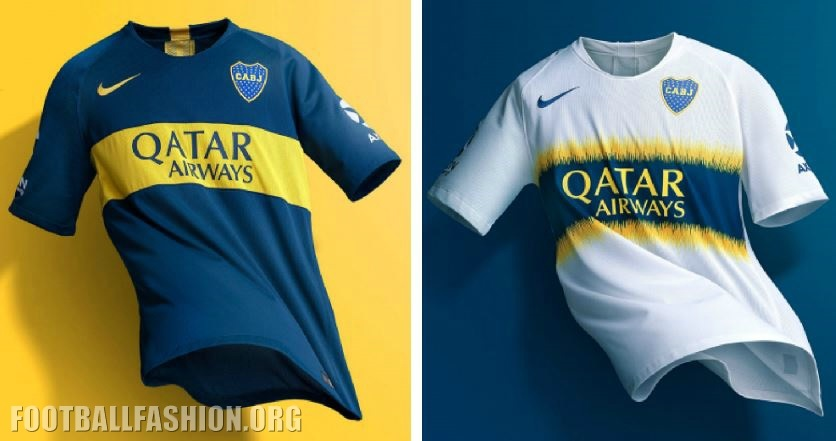 premium selection 632b2 50603 Boca Juniors 2018/19 Nike Home and Away Kits - FOOTBALL ...