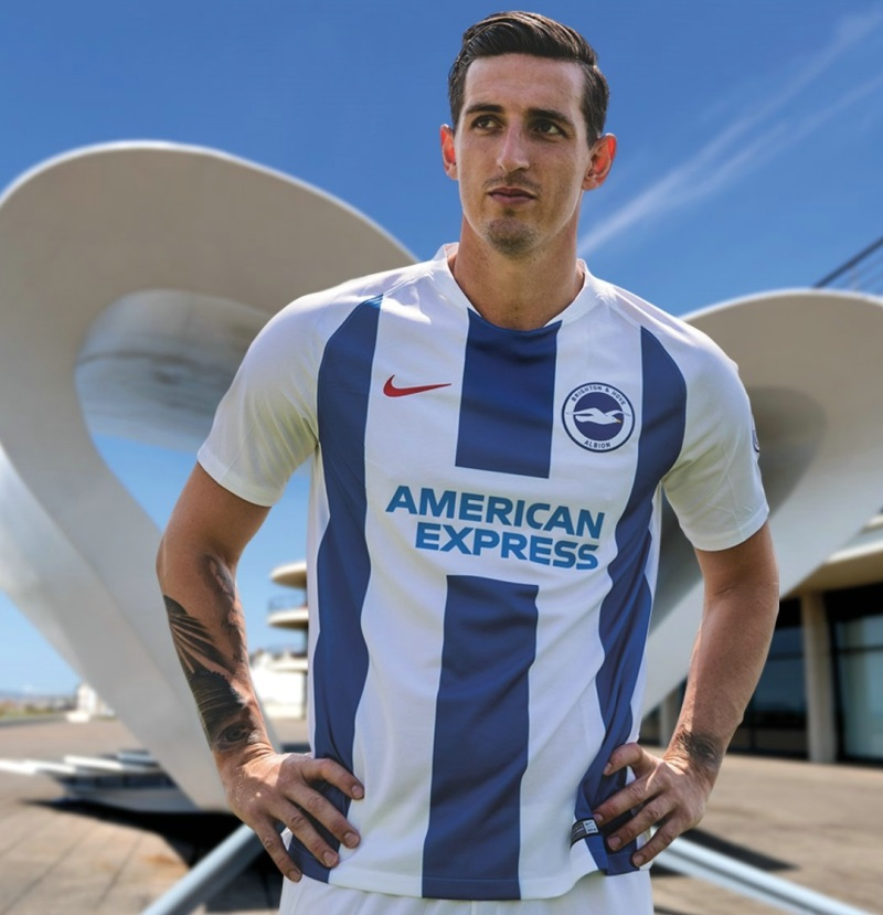 Brighton   Hove Albion 2018 19 Nike Home and Away Kits – FOOTBALL ... e7f7b2e74