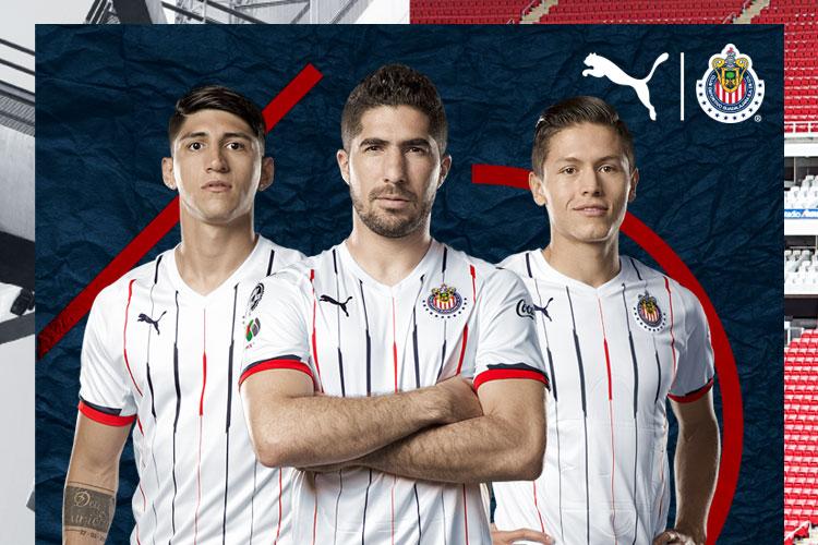 76b2087fdef Chivas de Guadalajara 2018 19 PUMA Home and Away Jerseys - FOOTBALL ...