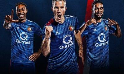 Feyenoord Rotterdam 2018 2019 adidas Away Kit, Soccer Jersey, Shirt, Tenue, Uitshirt