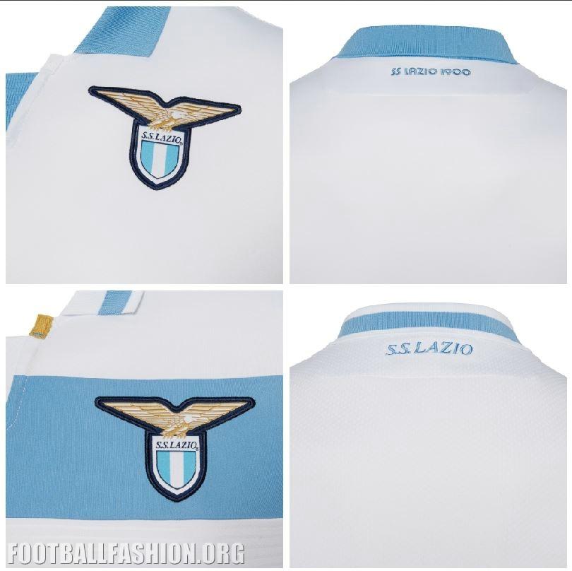 SS Lazio 2018 19 Macron Home and Europa League Kits – FOOTBALL ... 0dc9c99b1125a