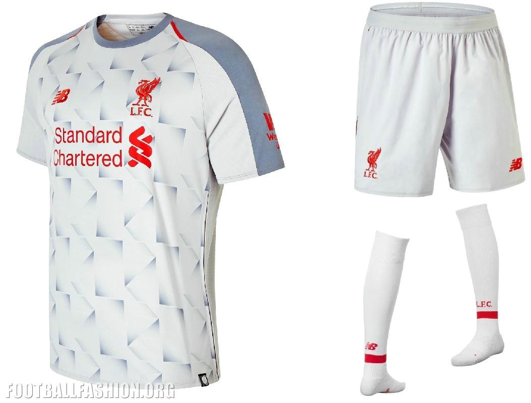big sale 9613d bcd4d Liverpool FC 2018/19 New Balance Third Kit - FOOTBALL ...