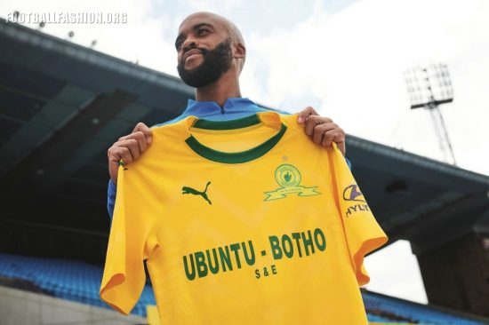 Mamelodi Sundowns 2018 2019 PUMA Home and Away Football Kit, Soccer Jersey, Shirt