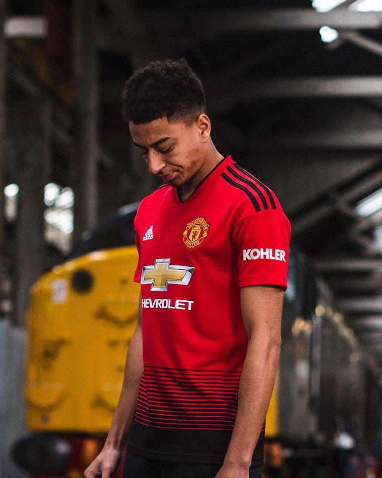 Manchester United 2018/19 adidas Home Kit - FOOTBALL FASHION.ORG
