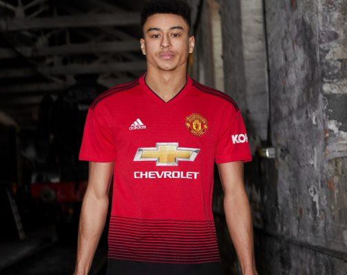 Manchester United 2018 2019 adidas Home Football Kit, Soccer Jersey, Shirt, Maillot, Camiseta, Camisa, Trikot