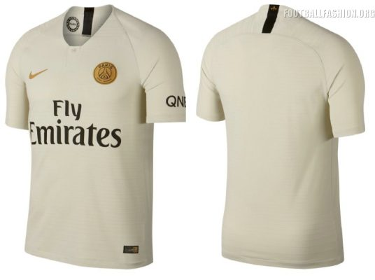 Paris Saint-Germain 2018 2019 Nike Away Football Kit, Soccer Jersey, Shirt, Maillot, Camiseta, Camisa, Trikot