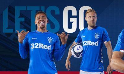 Rangers FC 2018 2019 Hummel Home, Away and Third Football Kit, Soccer Jersey, Shirt