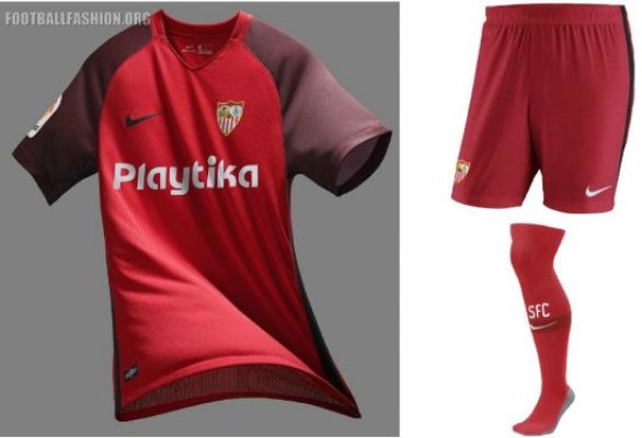 Sevilla Fútbol Club 2018 2019 Nike Home, Away and Third Football Kit, Soccer Jersey, Shirt, Camiseta, Camisa