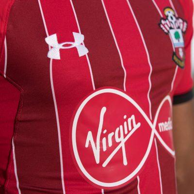 Southampton Football Club 2018 2019 Under Armour Third Football Kit, Soccer Jersey, Shirt