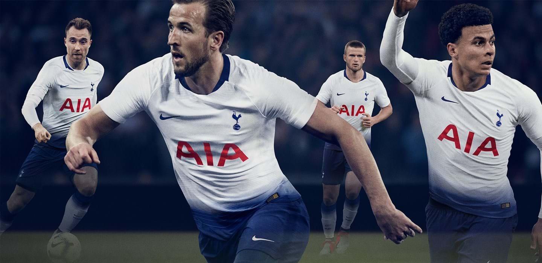 210db9c6 Tottenham Hotspur 2018 2019 Nike Home and Away Football Kit, Soccer Jersey,  Shirt,