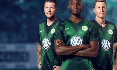 VfL Wolfsburg 2018 2019 Nike Home, Away and Third Football Kit, Soccer Jersey, Shirt, Trikot, Heimtrikot, Auswärtstrikot