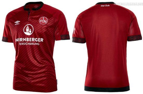 1. FC Nürnberg 2018 2019 Umbro Home, Away and Third Footbal Kit, Soccer Jersey, Shirt, Trikot