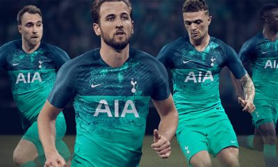 Tottenham Hotspur 2018 2019 Nike Green Third, Soccer Jersey, Shirt, Camiseta, Maillot, Camisa, Trikot