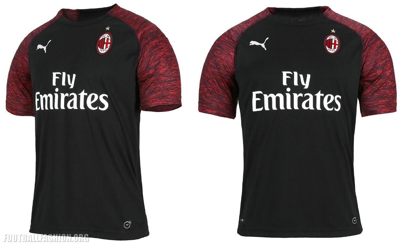 cheaper bc353 24e95 AC Milan 2018/19 PUMA Third Kit - FOOTBALL FASHION.ORG