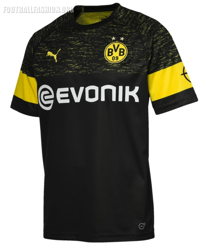 new product 8455c 2f040 Borussia Dortmund 2018/19 PUMA Away Kit - FOOTBALL FASHION.ORG