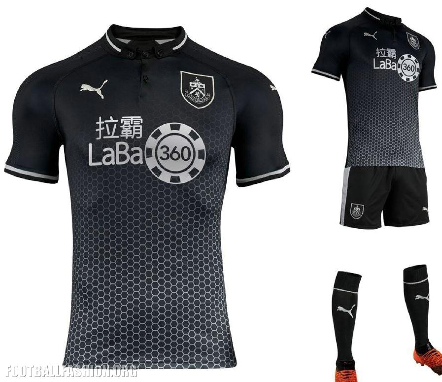 fcb3b7668b9 Burnley FC 2018 2019 PUMA Away Football Kit, Soccer Jersey, Shirt