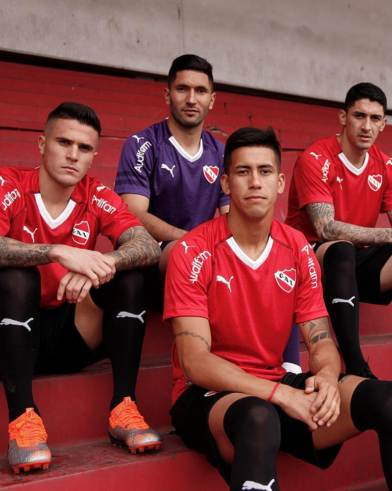 Club Atlético Independiente 2018 19 PUMA Home and Third Kits ... 30d67b1d5